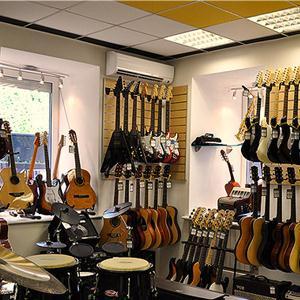 Музыкальные магазины Отрадного
